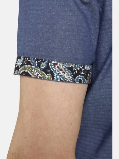 In »hiddentreasures« Paisleymuster Kurzarmhemd Akzente Shirtmaster tqx1Pnw