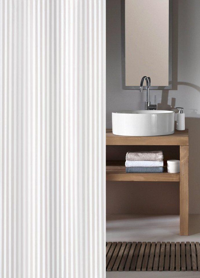 Duschen und Zubehör - KLEINE WOLKE Duschvorhang »Sanna«, 120 cm Breite  - Onlineshop OTTO