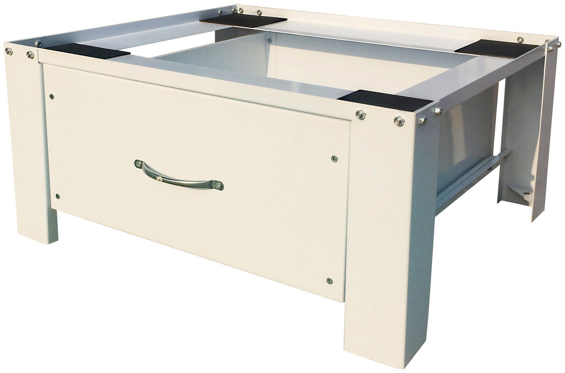 Kühlschrank Untergestell : Respekta untergestell waschmaschinen untergestell« mit schublade
