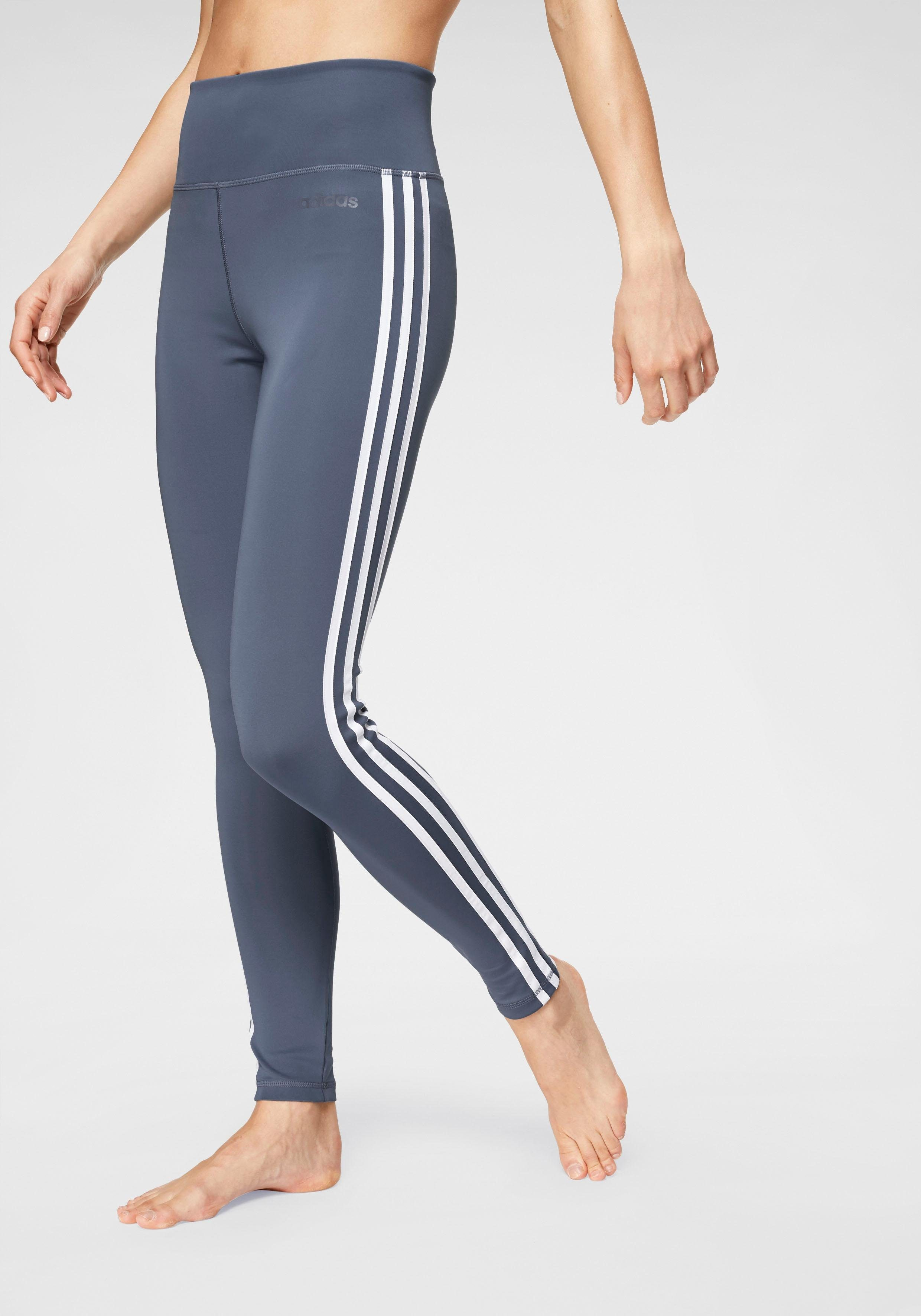 adidas Funktionstights »DESIGNED TO MOVE 3 STRIPES HIGH RISE« online kaufen   OTTO