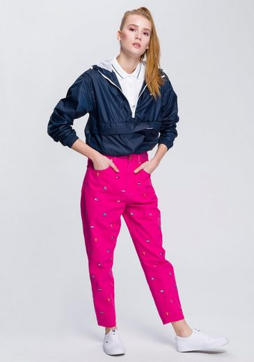 Mit Tommy Großzügiger Tasche Windbreaker Jeans wxzEvqYnrw
