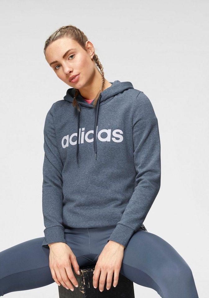outlet online online shop running shoes adidas Kapuzensweatshirt »ESDSENTIALS LINEAR OH HOODIE FL« online kaufen |  OTTO