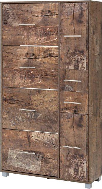 Schuhschränke und Kommoden - Schildmeyer Schuhschrank »Pisa« Breite 88,5 cm, mit 4 Klappen  - Onlineshop OTTO