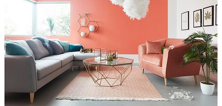 Trendfarbe Living Coral