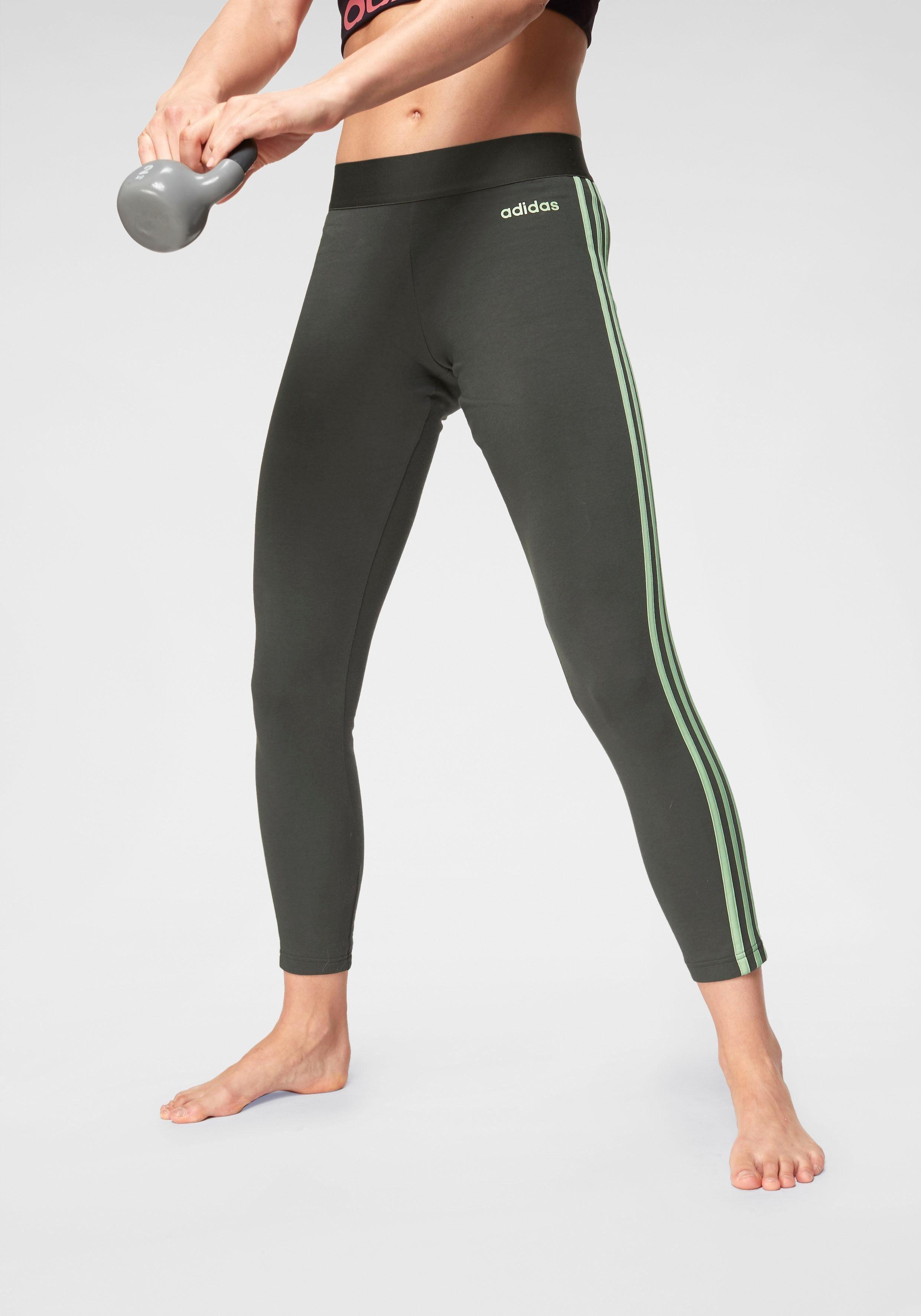 adidas Leggings »W E 3 STRIPES TIGHT«, Leggings von adidas CORE SPORT online kaufen | OTTO