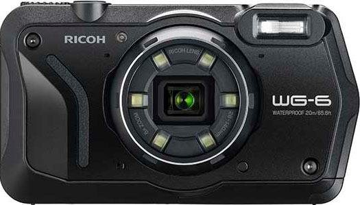 Action, Outdoorkameras - Ricoh »WG 6« Outdoor Kamera (RICOH Objektiv, 11 Elemente in 9 Gruppen (5 asphärische Elemente), 20 MP, 5x opt. Zoom)  - Onlineshop OTTO