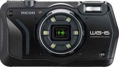 Ricoh »WG-6« Outdoor-Kamera (RICOH Objektiv, 11 Elemente in 9 Gruppen (5 asphärische Elemente), 20 MP, 5x opt. Zoom)