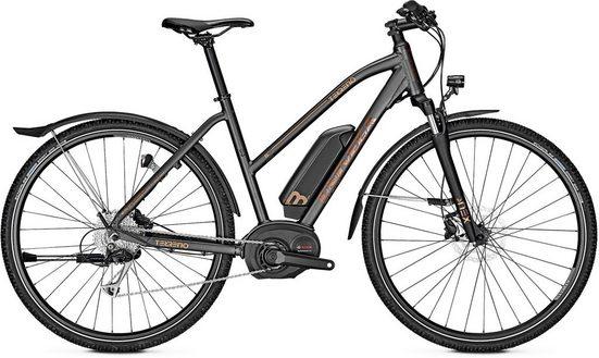 Univega E-Bike »Terreno B Street«, 9 Gang Shimano Deore Schaltwerk, Kettenschaltung, Mittelmotor 250 W