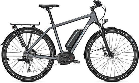 Univega E-Bike »Geo B 2.0«, 9 Gang Shimano Alivio Schaltwerk, Kettenschaltung, Mittelmotor 250 W