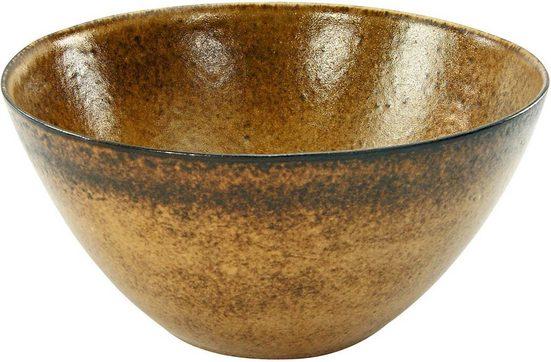 CreaTable Salatschüssel »Sahara«, Steinzeug, Ø 25 cm