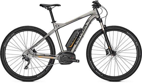 Univega E-Bike »Summit B 2.0«, 10 Gang Shimano Deore Schaltwerk, Kettenschaltung, Mittelmotor 250 W
