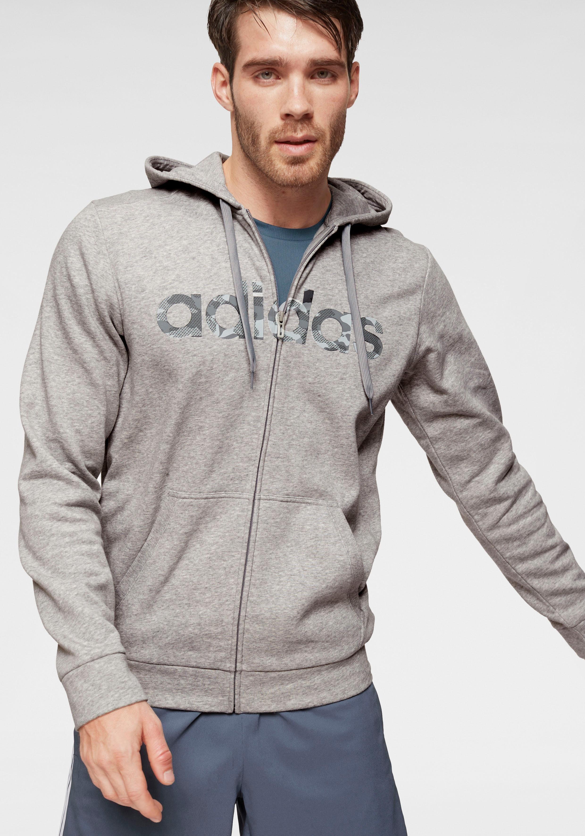 adidas Performance Kapuzensweatjacke »E CAMO LINEAR FULL ZIP« online kaufen | OTTO