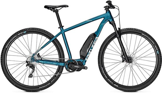 Univega E-Bike »Summit S Edition«, 10 Gang Shimano Deore Schaltwerk, Kettenschaltung, Mittelmotor 250 W