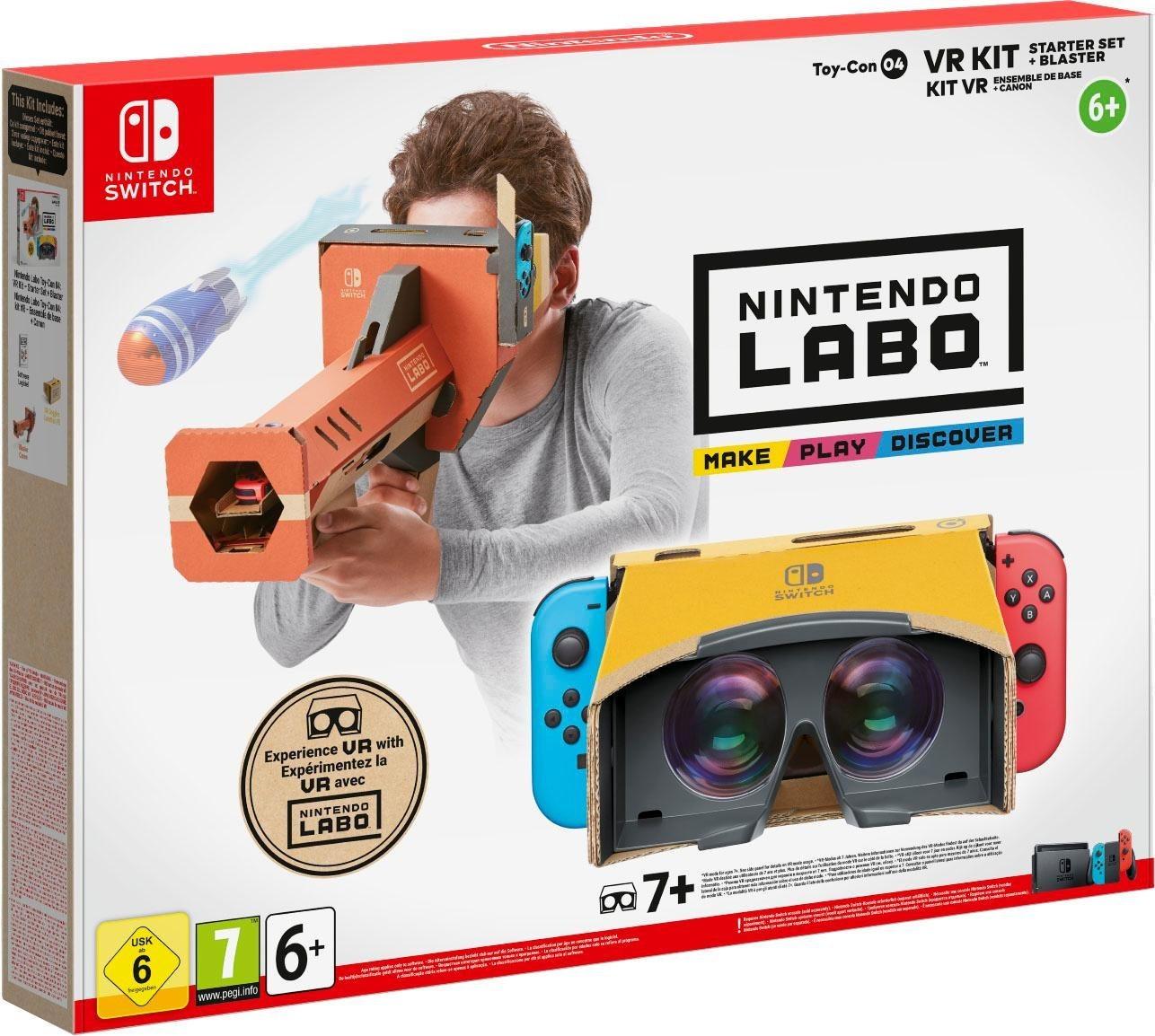 Image of Nintendo Labo - Toy-Con 04: VR-Set Basispaket + Blaster