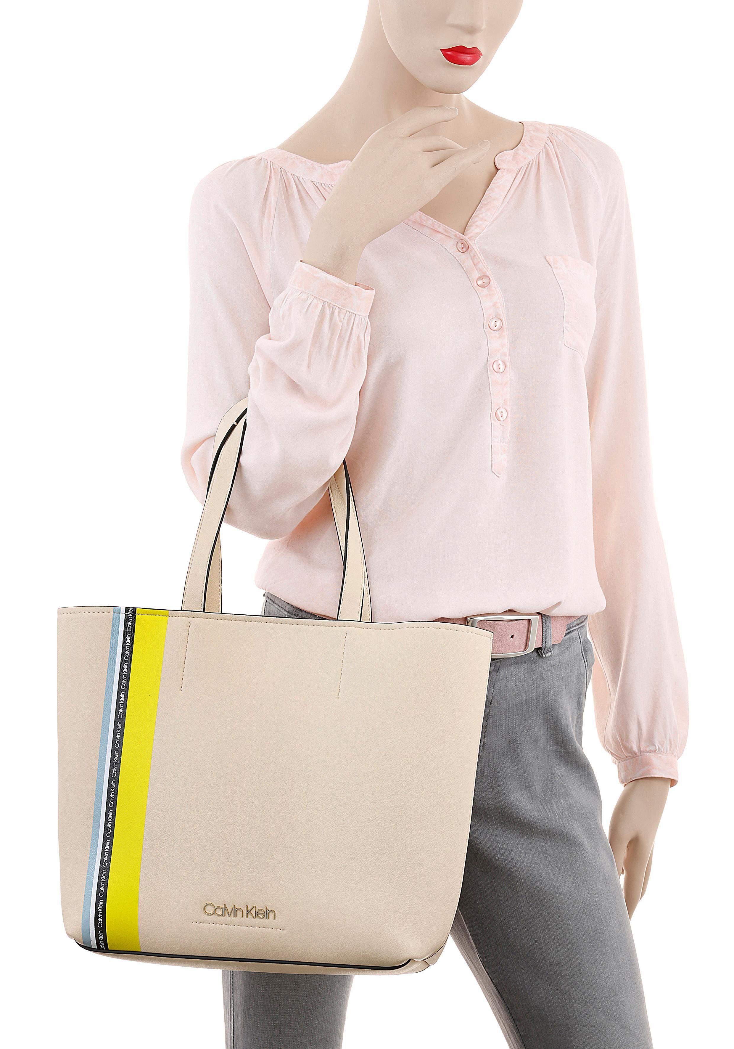 Str« Must Kleiner Medium Shopper Calvin tasche »ck Mit Klein Reißverschluss CqXUWwv