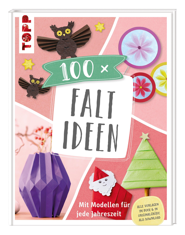 """Topp Buch """"100 x Faltideen"""" 144 Seiten"""