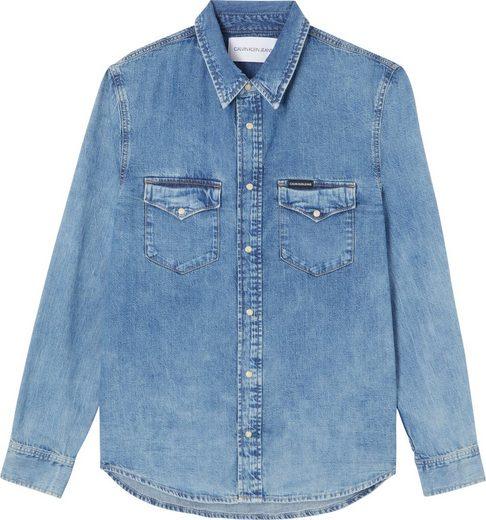 Calvin Klein Jeans Jeanshemd »MODERN WESTERN SHIRT«