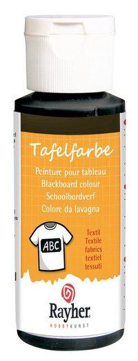 Tafelfarbe Textil, schwarz