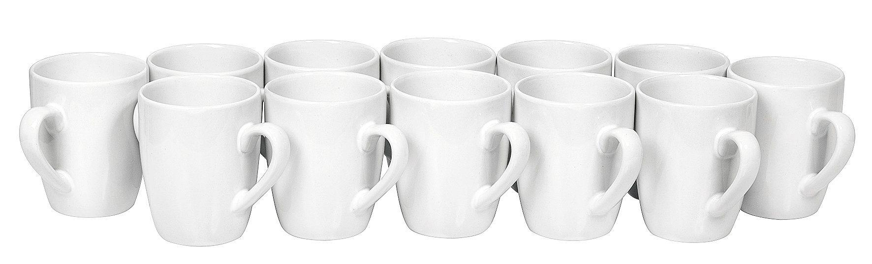 """VBS Großhandelspackung Tassen Set """"Kaffeebecher XXL Pack"""" 12 Stück"""