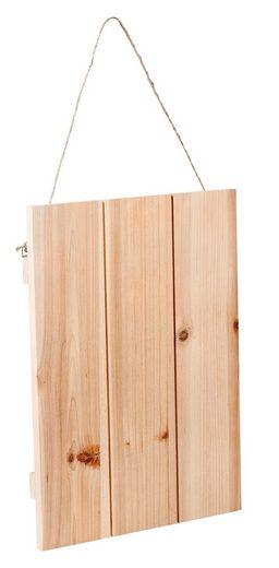 VBS Deko-Holzplatte mit Aufhängung