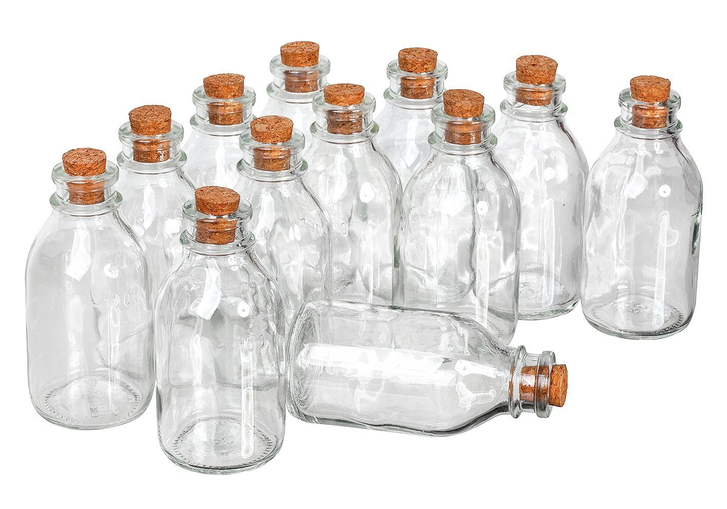 "VBS Großhandelspackung VBS Glasflaschen ""Minis"", 12 St."