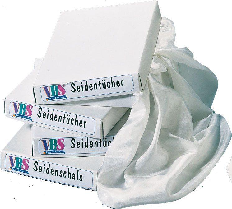 VBS 6er-Set Seidentücher, 55x55 cm, Pongé 05