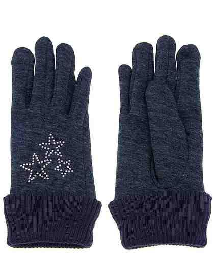 Leslii Handschuhe mit tollen Glitzer-Sternen