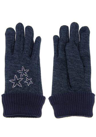Перчатки с красивый Glitzer-Sternen