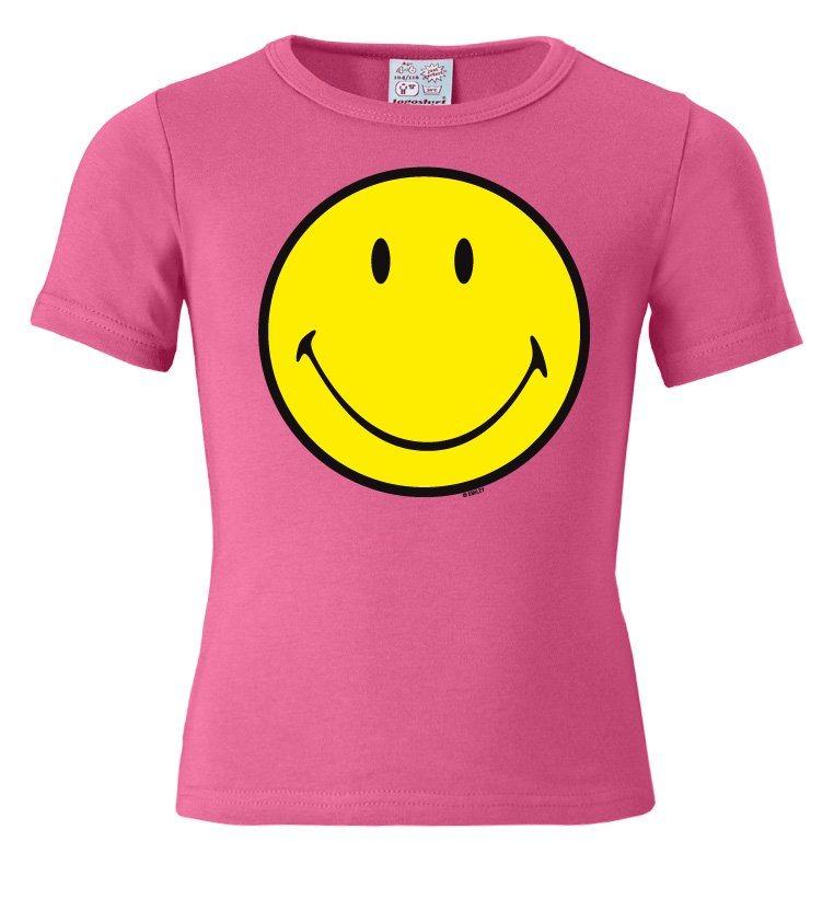 logoshirt t shirt mit smiley face print kaufen otto. Black Bedroom Furniture Sets. Home Design Ideas