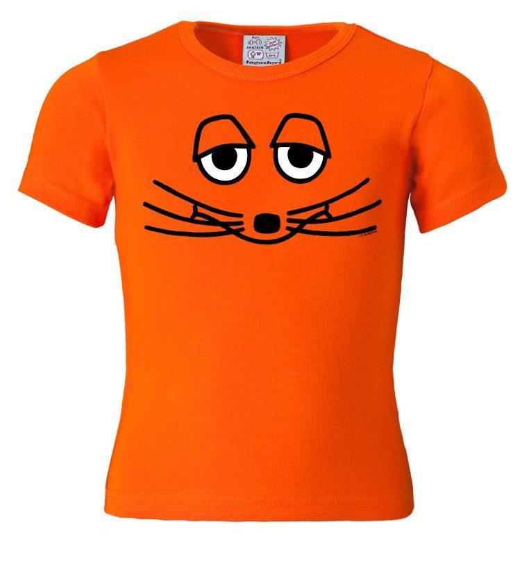 LOGOSHIRT T-Shirt mit Sendung mit der Maus-Frontprint
