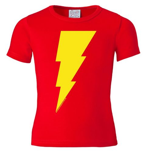LOGOSHIRT T-Shirt mit Captain Marvel-Logo