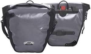 Norco Gepäckträgertasche »Arkansas Hinterradtasche grau/schwarz«