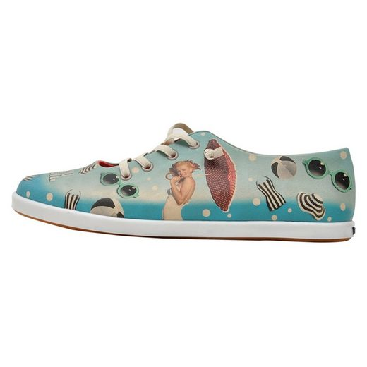 DOGO »marilyn on the beach« Sneaker Vegan