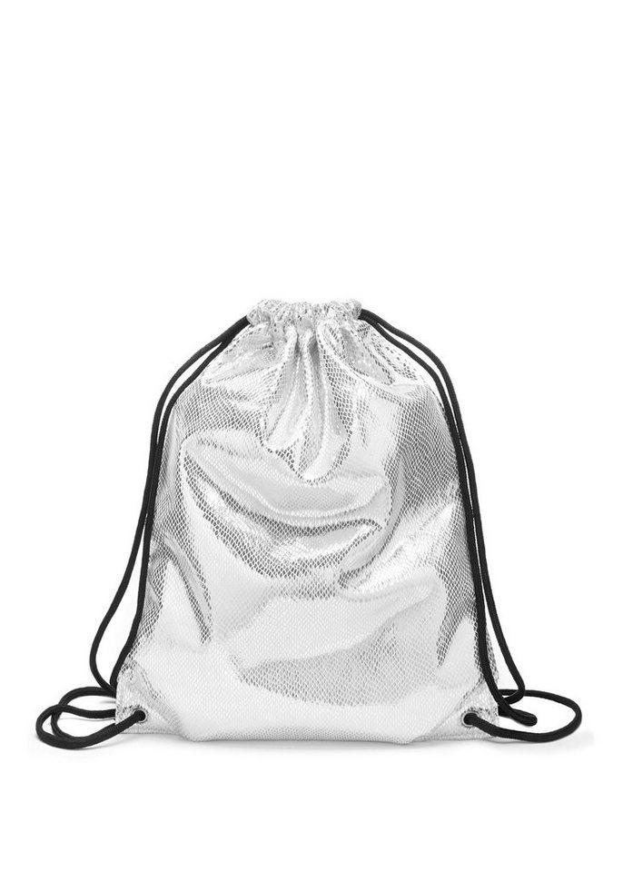 lascana -  Gymbag, Gym Bag aus glänzendem Material