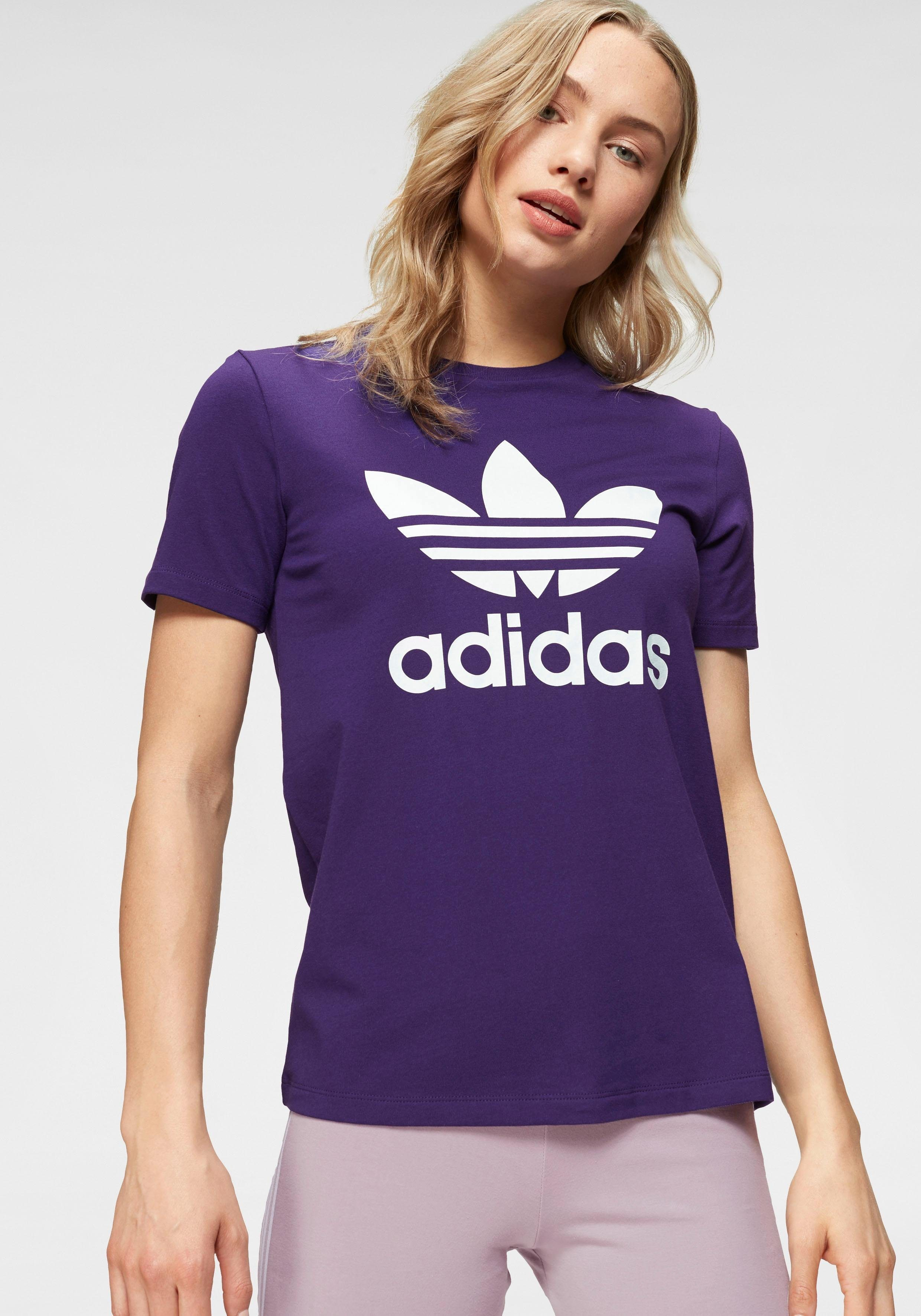 adidas originals 3 stripes tee t shirt bunt