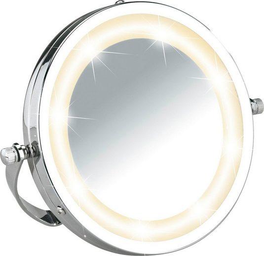 WENKO Kosmetikspiegel »Brolo«, 3- fach - Vergrößerung