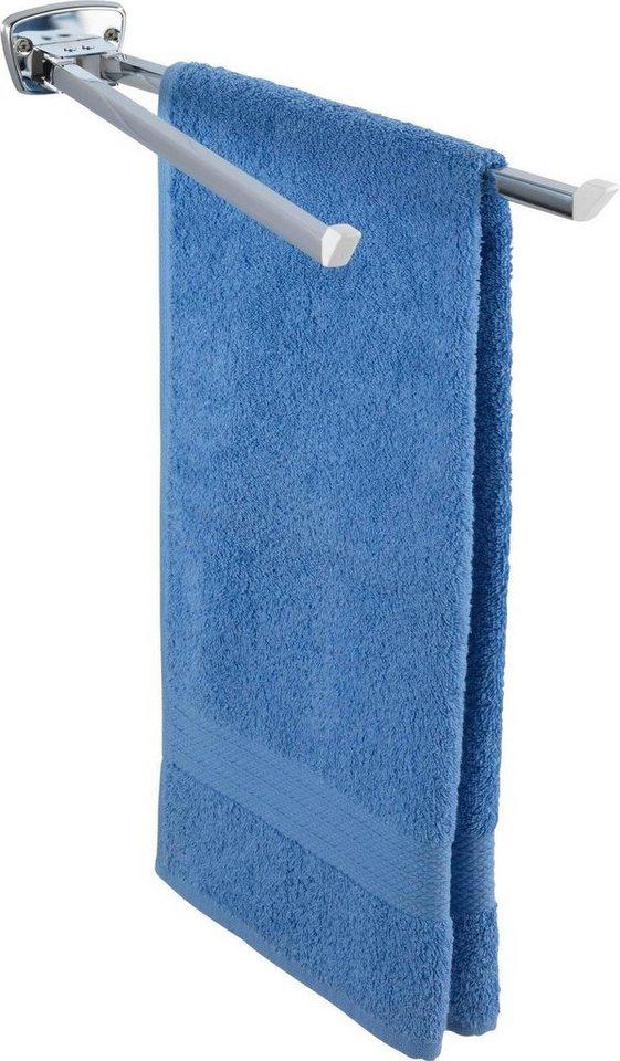 WENKO Handtuchhalter Basic Maße B T H 8 42 5 5 cm