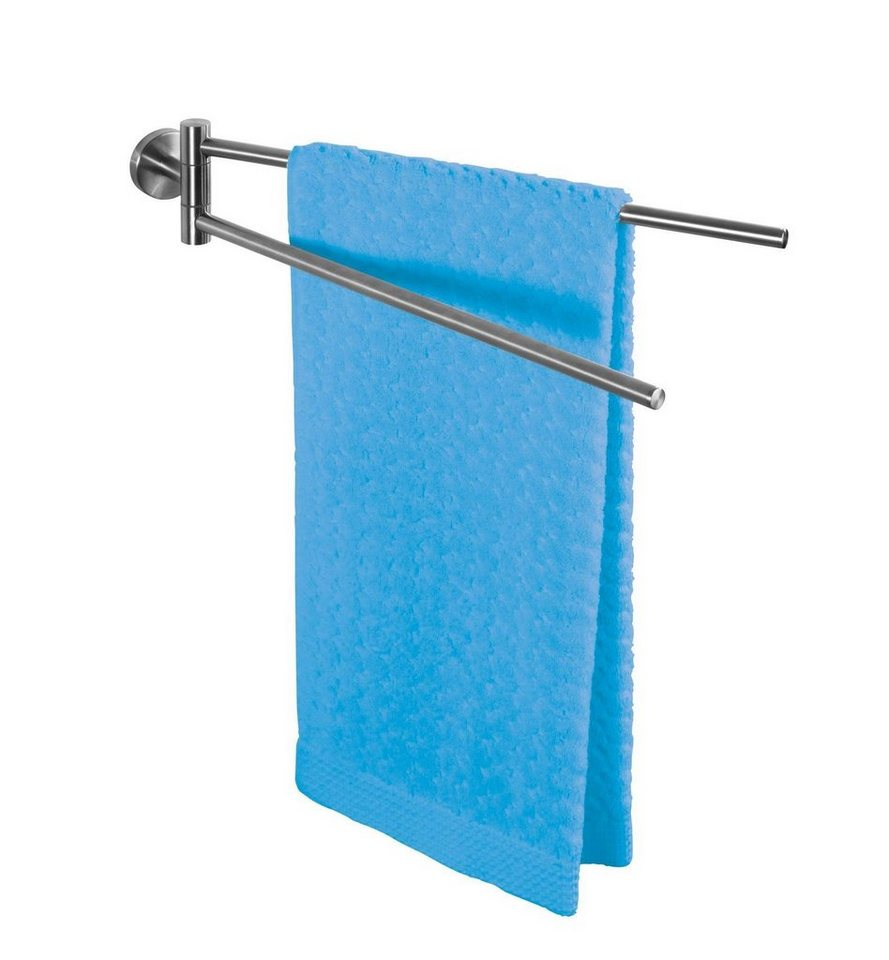 WENKO Handtuchhalter mit 2 Armen Bosio Material