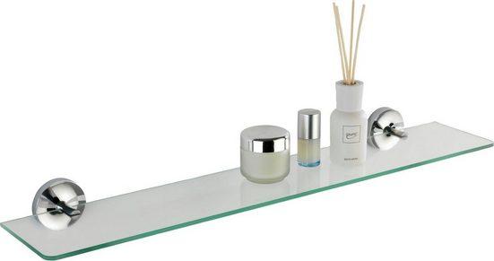 WENKO Power-Loc® Glas Wandablage »Arcole«