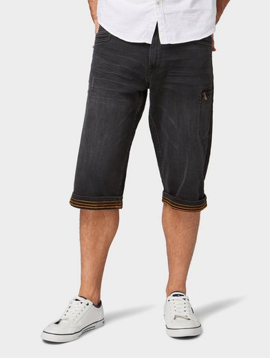 TOM TAILOR Slim-fit-Jeans »Morris Relaxed Bermuda Shorts«