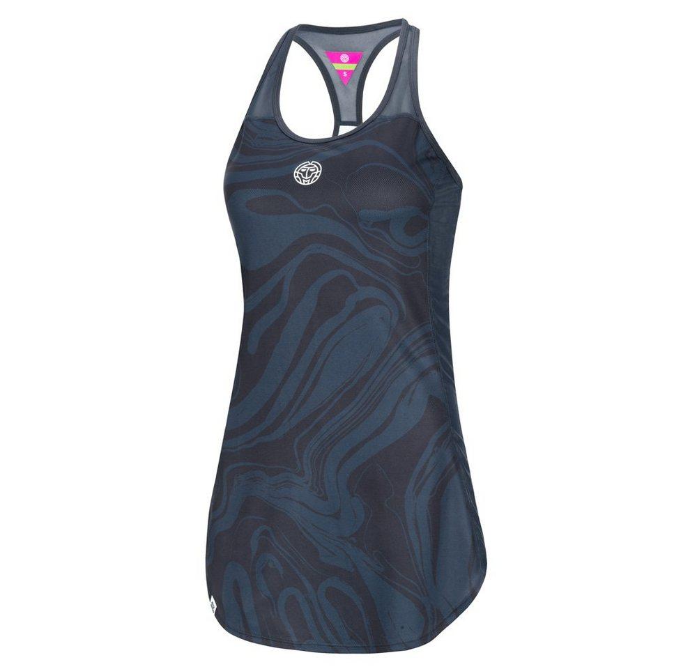 BIDI BADU 3 in 1-Tennis-Kleid mit schickem Muster | Sportbekleidung > Sportröcke | Grau | BIDI BADU
