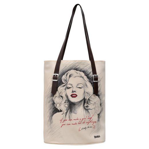 DOGO Umhängetasche »Marilyn Monroe«, Vegan
