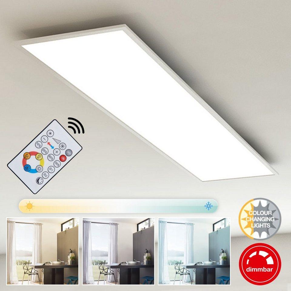 Top Briloner Leuchten LED Panel »Mia«, 1-flammig, Deckenleuchte QE21