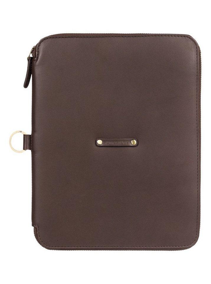 Quiksilver Brieftasche »Stormriver« | Accessoires > Portemonnaies > Brieftaschen | Braun | Leder | Quiksilver