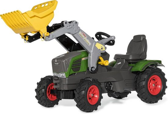 rolly toys® Trettraktor »rollyFarmtrac Fendt 211 Vario«, mit Frontlader und Luftbereifung