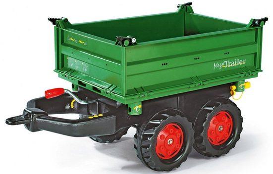 rolly toys® Kinderfahrzeug-Anhänger »Mega Trailer mit roten Felgen«, für Trettraktor
