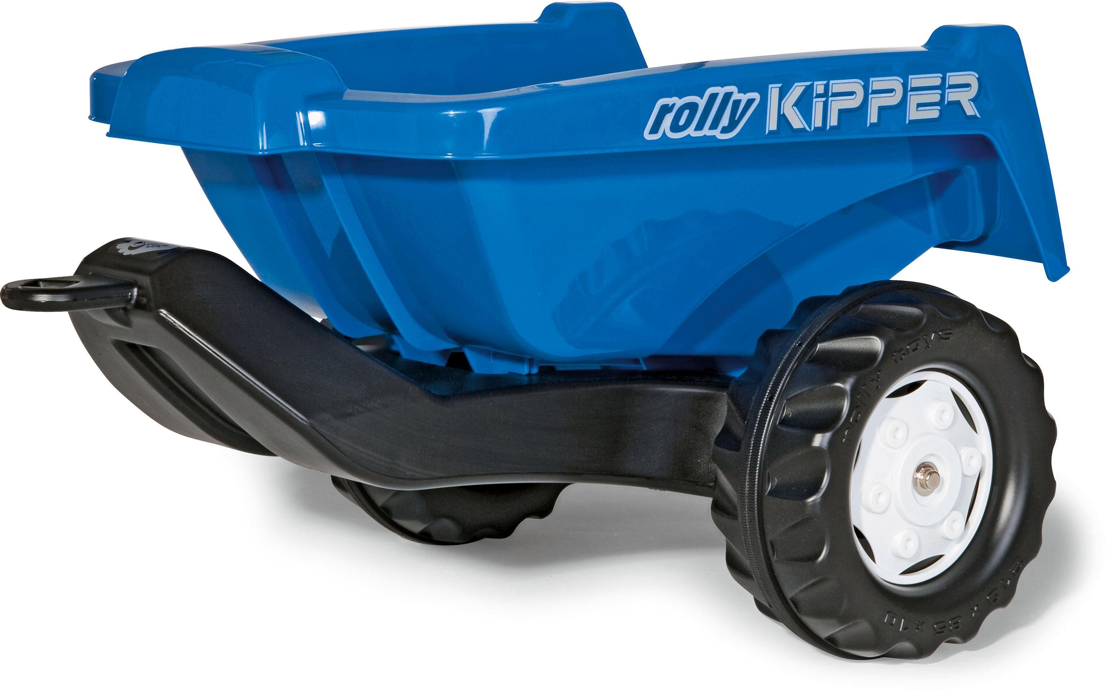rolly® toys Anhänger für Trettraktor, »Kipper II, blau«