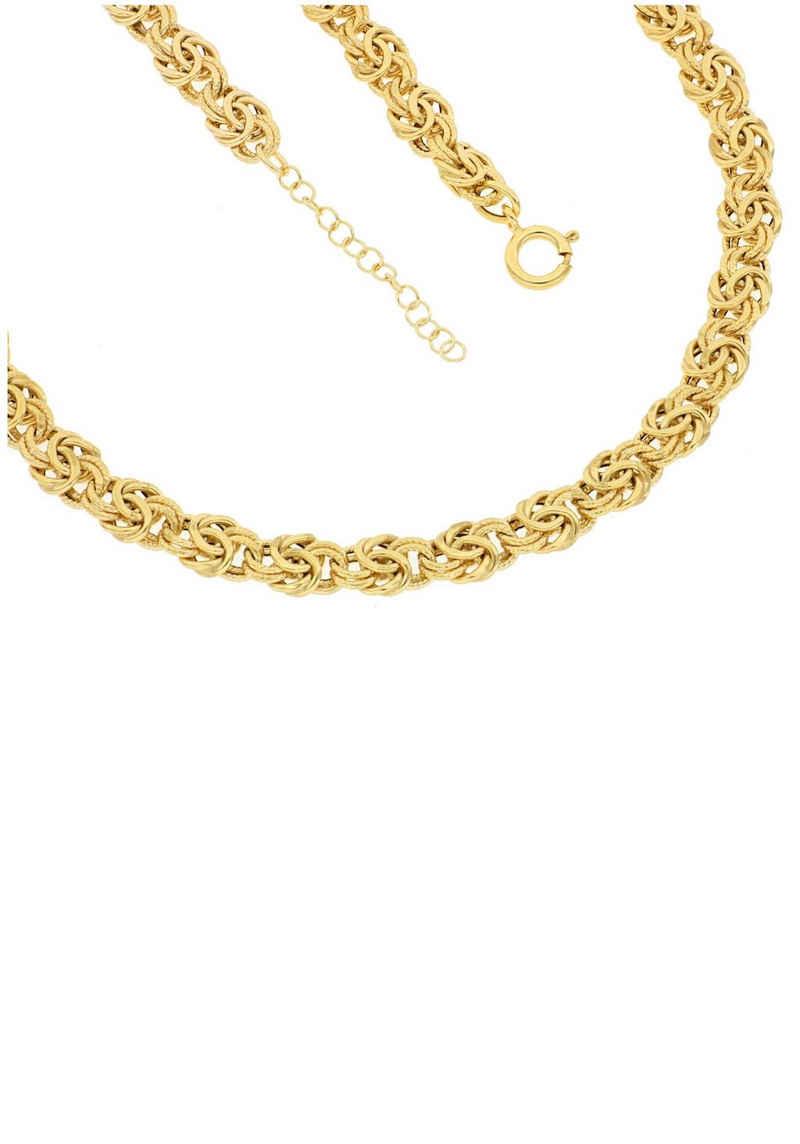 Firetti Königskette »7,4 mm breit, glanz, ziseliert«