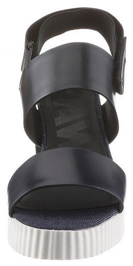 Core Denim Mit star Zweifarbiger Sandalette G Sohle Sandal« Raw »rackam pxtWIq