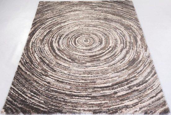 Teppich »Lexa Round«, OCI DIE TEPPICHMARKE, rechteckig, Höhe 20 mm, besonders weich durch Mircofaser, Wohnzimmer
